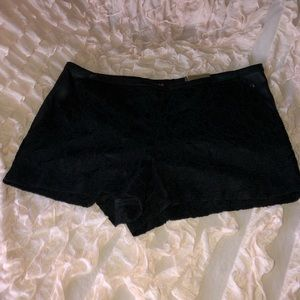 4for $20.00 BNWT Express lace & faux leather short